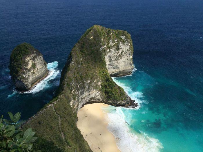 Klingking beach, nusa penida, bali, indonesia