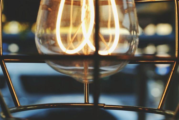Metal lamps for