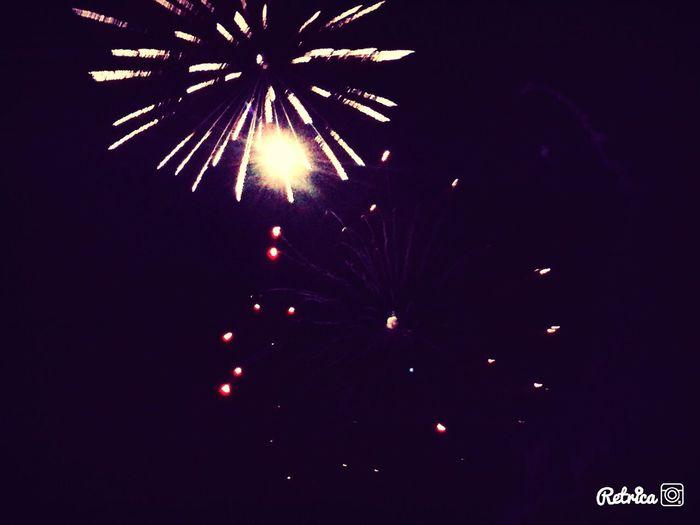 New Year's Eve Fireworks First Eyeem Photo
