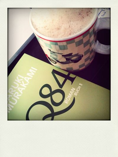 Relaxing Reading Cappuccino 1Q84