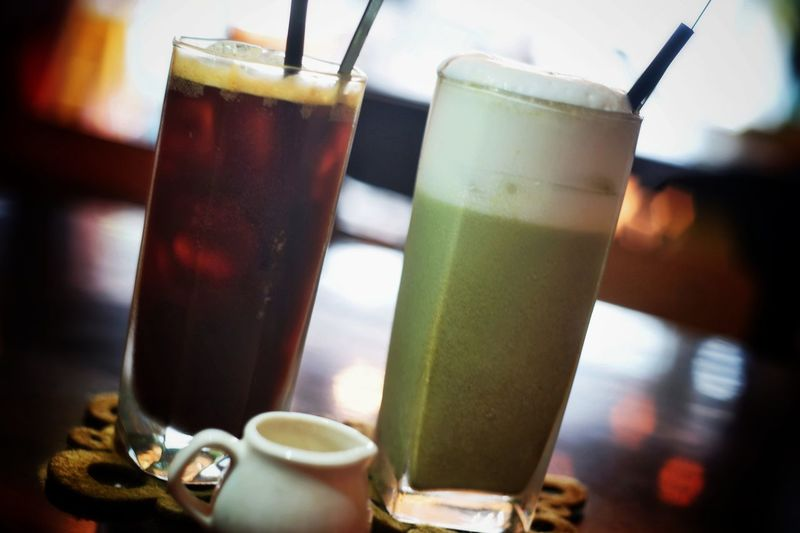 remake 2016 Gathering Gather High Tea Green Green Tea Latte Green Tea ❤️ Milk Drink Zisunword Feel Lonely Mood Mojito Cold Temperature Drink Alcohol Drinking Glass Cocktail Drinking Straw Close-up Food And Drink Liqueur Iced Coffee Tropical Drink Ice Tea Milk Bottle Milk Jug