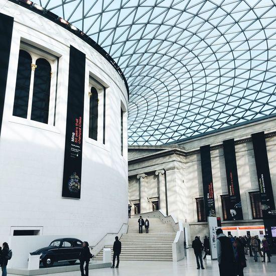 Bluehues British Museum Candid Photography Light London Monochrome First Eyeem Photo