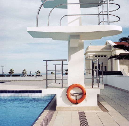 Tower at pool side