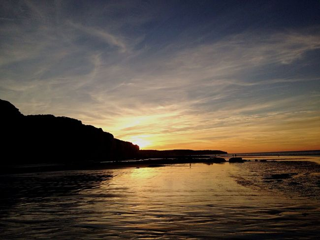 Normandie jolie Sunset Tranquility