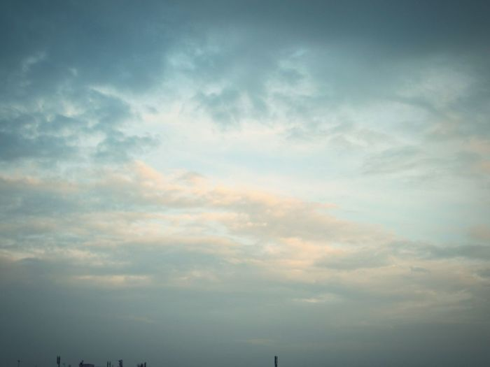 ◽pretty sky of beige and blue◽ Minimalist Sky_collection Sun_collection Check This Out Old Town Simple Beauty Pastel Power Sky The Week On Eyem Urban_collection Showcase May The Moment - 2016 Eyeem Awards From My Point Of View Clouds And Sky Cloudscapes Sky_collection