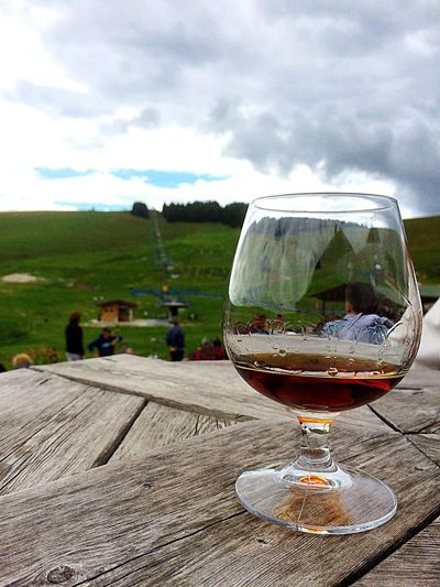 #relax and #nature 🍄 Sky Food And Drink Nature Drink Refreshment Glass Cloud - Sky