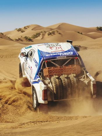 Foj Motorsport Rally Raid Dakar 2015 Test Drive Car Desert Cooper Racing Car Racing EyeEm Best Shots Rally The Drive Finding New Frontiers