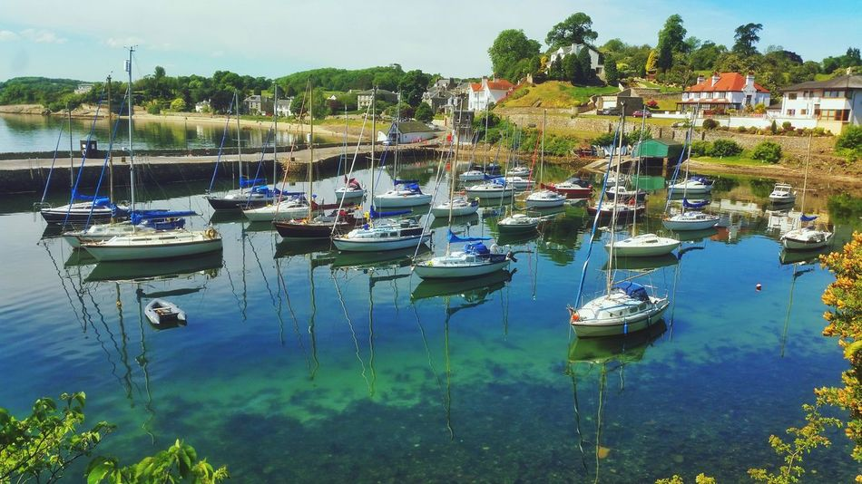 Aberdour Water Reflections Harbour Summer Days Boatsboatsboats Boats⛵️