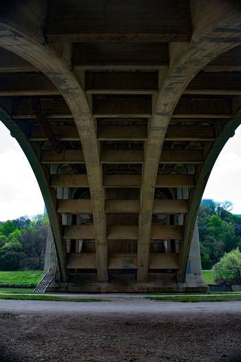Architecture Below Bridge Bridge - Man Made Structure Built Structure Connection Transportation Under Underneath