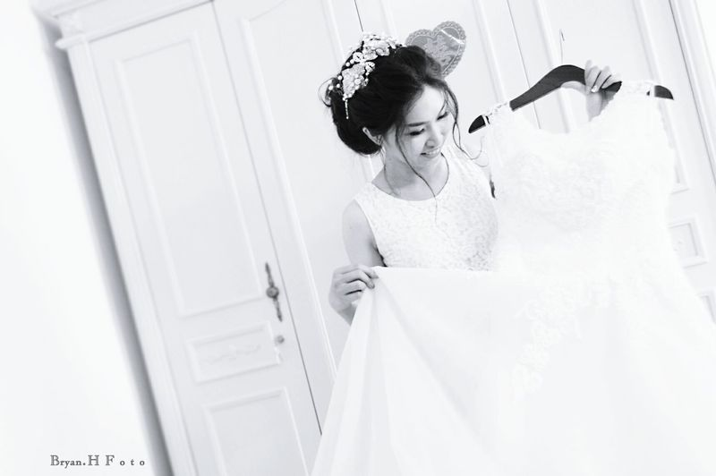 Bridesmaid Blackandwhite Bnw Vietnambridemaid