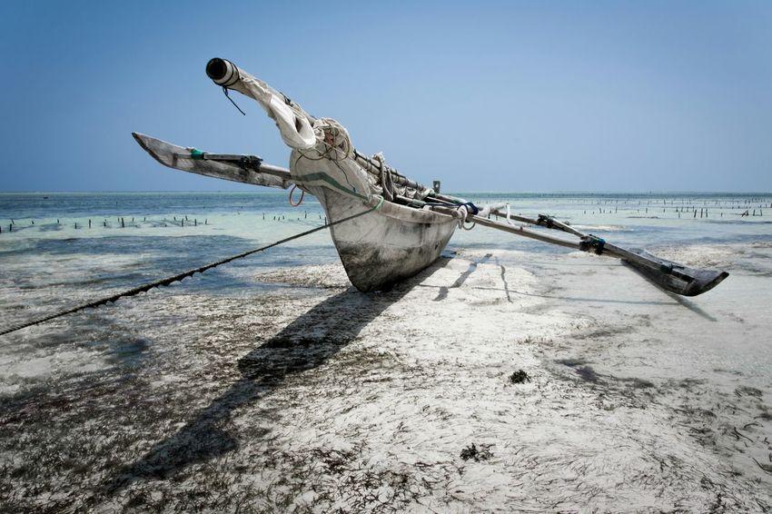 Mango Wood Boat - Matemwe Beach, Zanzibar, Tanzania Africa Tanzania Boat Travel Photography Taking Photos Travel Taking Photos Tourist Enjoying Life Check This Out The Week On EyeEm
