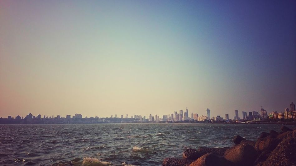 Marine drive Mumbai. Who doesnt know this place? There's a reason it's called 'sapno ki nagariya' (the city of dreams). Cityscape Urban Skyline Skyscraper City Architecture Travel Destinations Building Exterior Outdoors Sky Water Day The Great Outdoors - 2017 EyeEm Awards Compositionkillerz LandscapeCollection Theimaged Landscape City