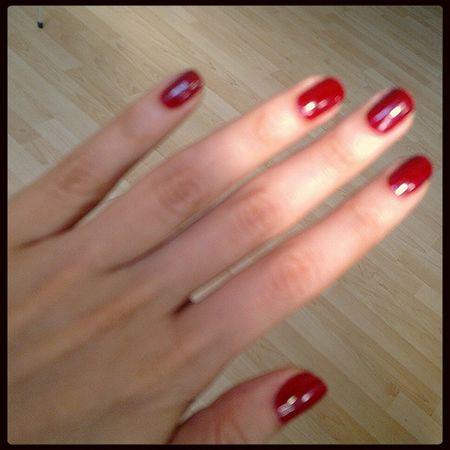 Fingers Manicure Nailpolish My Nails