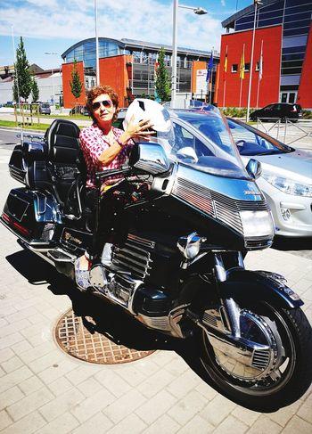 Mode Of Transport Honda Goldwing Day