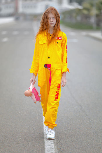 red hair walking Red Hair Redhead Young Girl Yellow Clothes Redhair Red Doll Young Women Portrait Full Length Child Beautiful Woman Yellow Standing Beauty Happiness Cold Temperature Wavy Hair Dyed Red Hair Freckle The Portraitist - 2019 EyeEm Awards The Creative - 2019 EyeEm Awards My Best Photo The Street Photographer - 2019 EyeEm Awards The Great Outdoors - 2019 EyeEm Awards