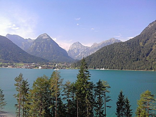 Pertisau Am Achensee Mountain View I Love Austria Lovelynatureshots IloveTirol Lake Noedit Mountains Landscape_photography