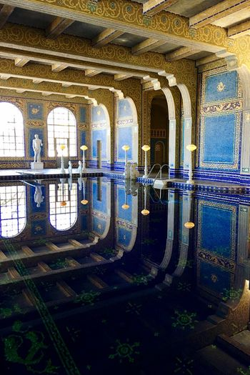 Reflection Indoor Pool Water Reflections The Architect - 2018 EyeEm Awards The Traveler - 2018 EyeEm Awards Architecture Built Structure Day No People Building Building Exterior Architectural Column Water Reflection