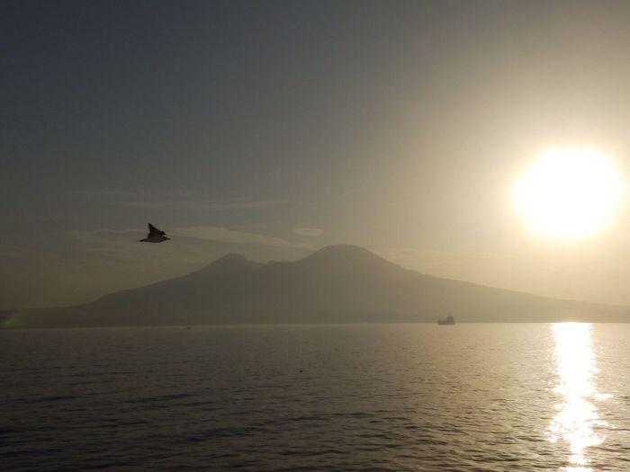 Vesuvius in the morning ... Landscape Landscape_Collection