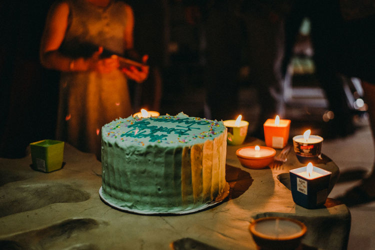 Birthday Party Birthday Cake Birthdays Candle Candles Flame Flames Intimate Lowlight Bakery Birthday Birthday Candles Birthdaygirl Candlelight Fire Focus On Foreground Food Illuminated Party Party - Social Event Sweet Food Table