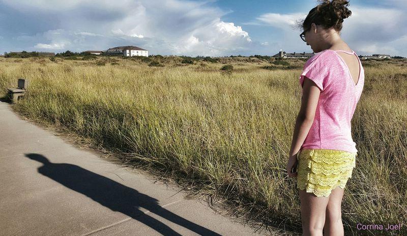 Shadow. Samsung Galaxy S6. Ocean Shores, Washington (USA). Edited with Snapseed. Enjoying Life Smartphonephotography Shadows Girl Girls Sidewalk Sidewalk Photograhy Teen Teenager Hanging Out