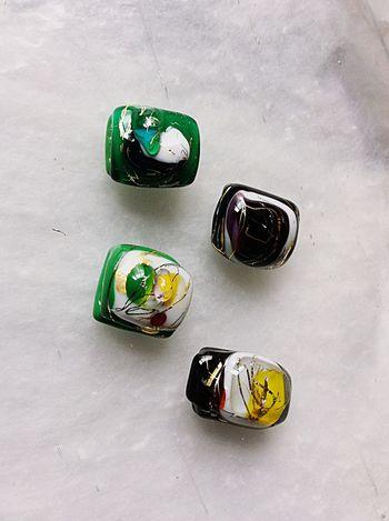 Traditional Craft Gold Leaf Glass Craft Handmade Crafts Handmade Jewellery Sash Clip Obidome Japan Glass Art