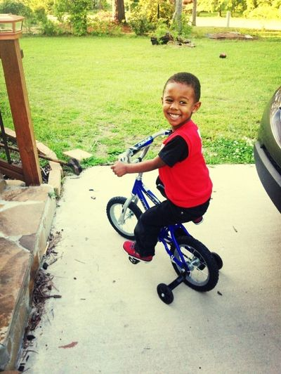 My ❤ Riding His Bike