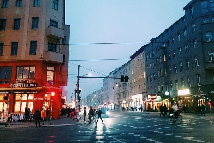 City Street City City Life Architecture Nightphotography Night Lights Night Photography Discover Berlin