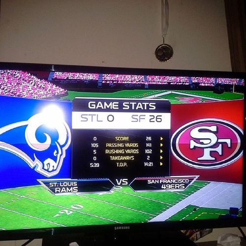 We gabe them hell 49ers Madden25