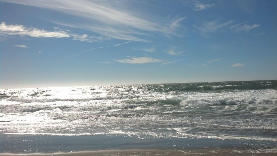 California Love Cali Life Cali 415 Beach Life Ocean View Ocean Waves Ocean And Sky Ocean Beach San Francisco Phoneography September 2016 Scenery Tranquil Scene Water