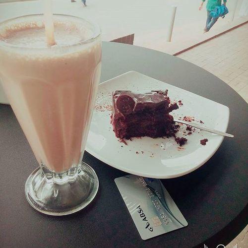 Chocolate Milkshake & Bar One chocolate cake SUKRECAFE Sandtoncity