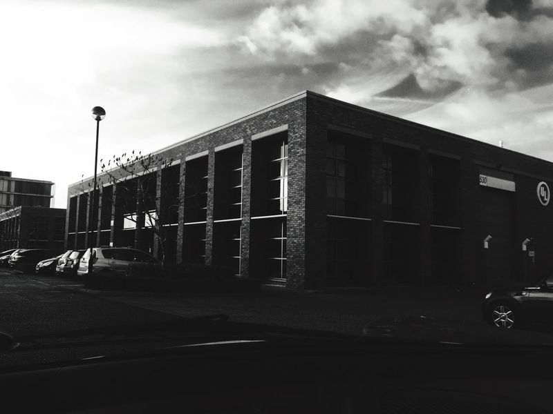 Building Blackandwhite Check This Out IPhoneography Architecture IPhone View Car Filter