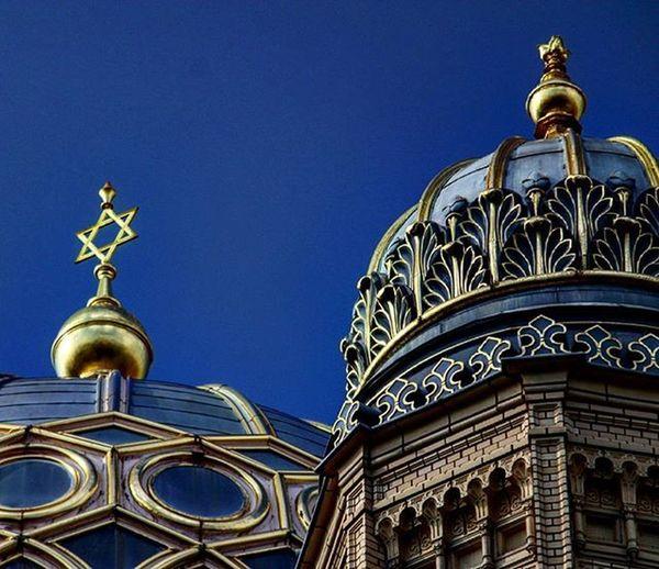 Germany Deutschland Berlin Neuesynagoge Neuesynagog Newsynagogue Synagogue Bluesky