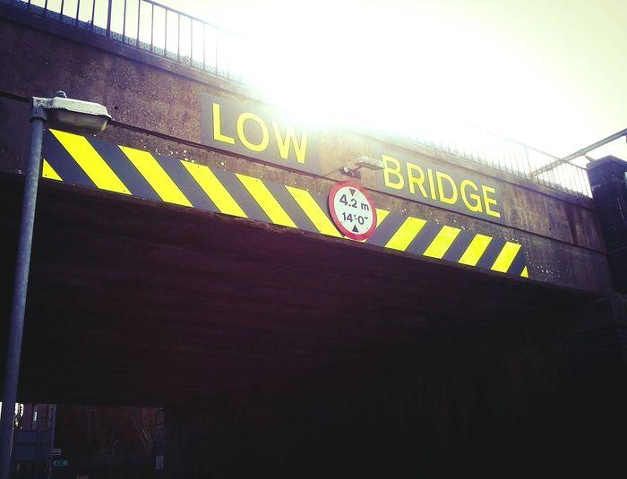 Low bridge in a Big Town. Longsight/Gorton border. The ghetto. Low Bridge Low Bridge Longsight Gorton Railway Train Bridge Urban Street Inner City Manchester