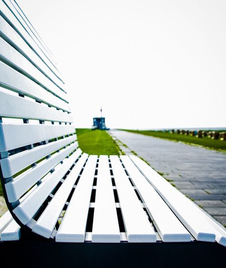 Bench Sky Clear