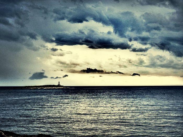 Sunset #sun #clouds #skylovers #sky #nature #beautifulinnature #naturalbeauty #photography #landscape Sky And Clouds Sea Croatia