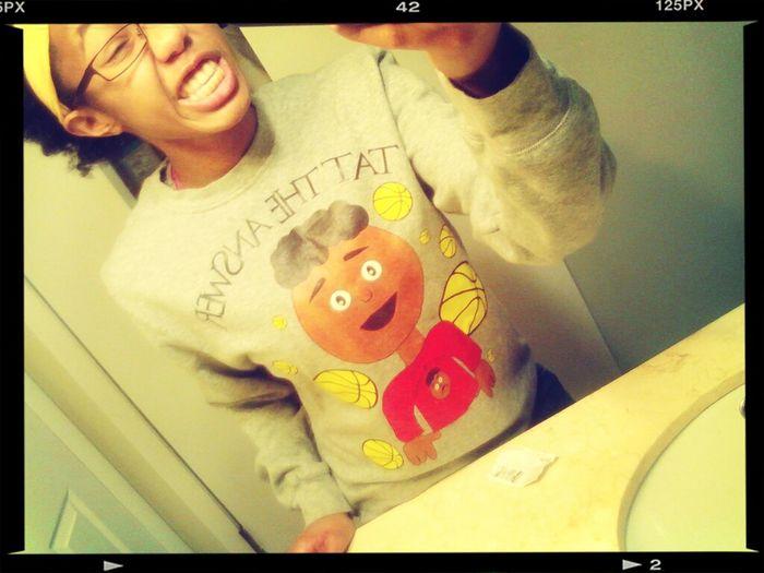 in the Bae shirt ;)