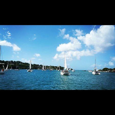Wide. .. we heading to the marina for dyp Islandlife 758 StLucia Saintlucia caribbean paradise igy arc mercury igymarinas