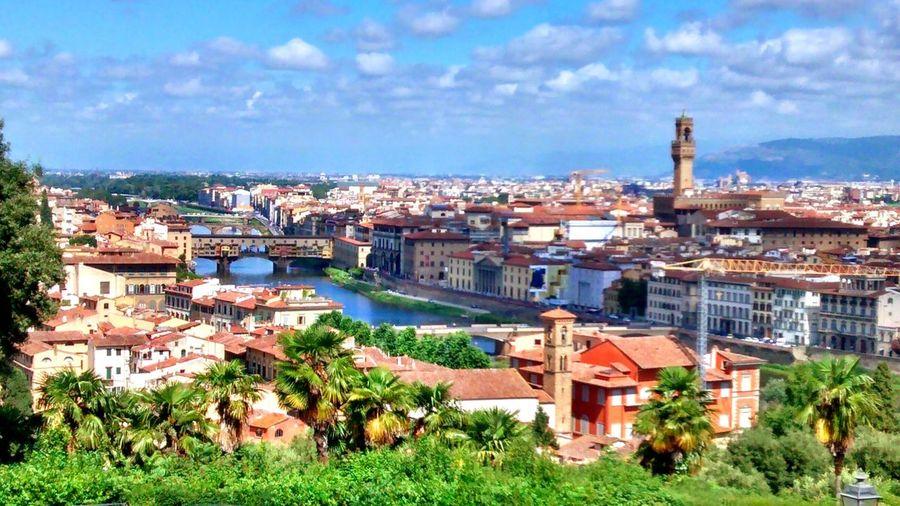 Ponte Vecchio - Firenze Fiume Arno Italy Italia