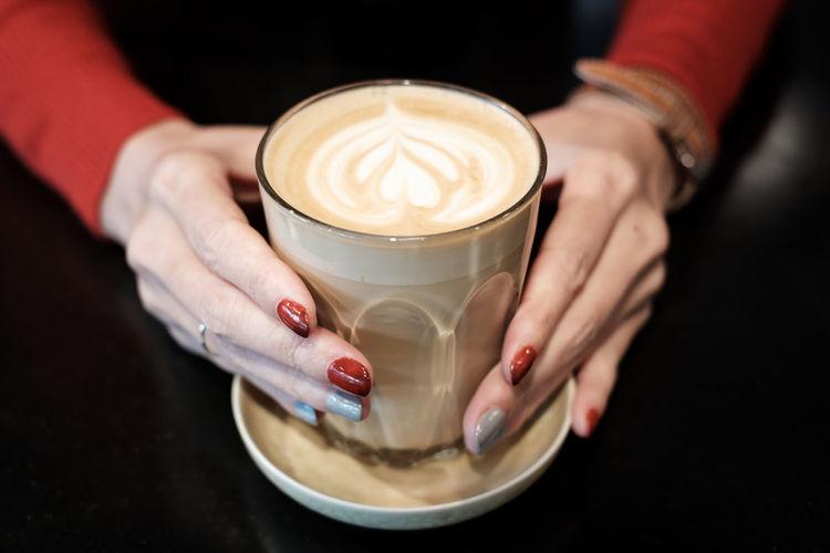 Latte Nails