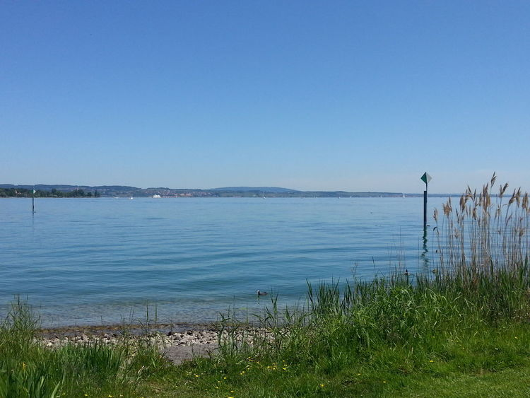 es gibt schlechtere orte für eine lunchtime Konstanz Bodensee Hanging Out
