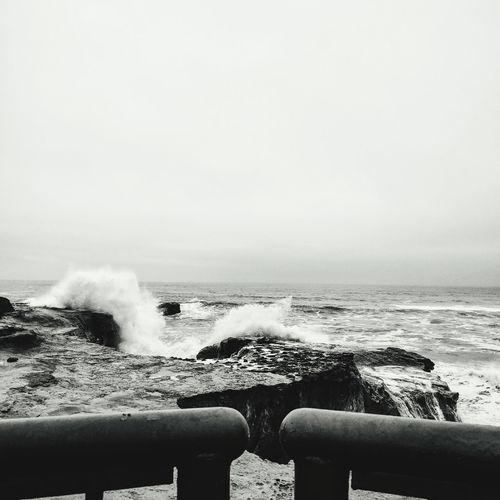 Pacific Ocean Waves, Ocean, Nature Santa Cruz