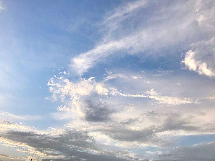 Cloud - Sky Sky Nature Low Angle View Beauty In Nature Sky Only Scenics Cloudscape No People Tranquility Backgrounds Day Tranquil Scene Outdoors