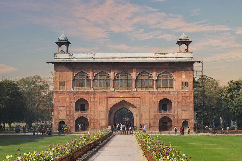 Museum at red fort, delhi, india