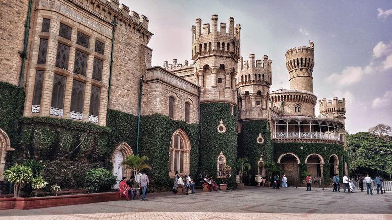 First Eyeem Photo Banglore Banglore Palace Bengaluru Castle Modern Architecture Modern Indian Architecture.