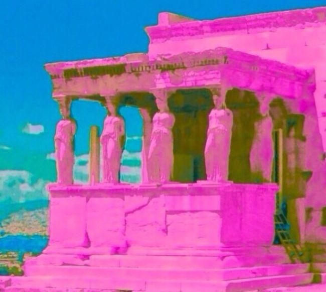 The Illusionist - 2014 EyeEm Awards Athens Caryatid Greece