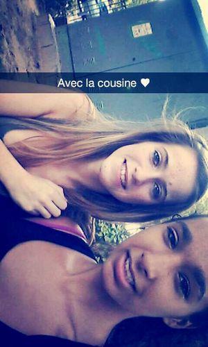 Avec ma cousine ♥ Lafamille ♥