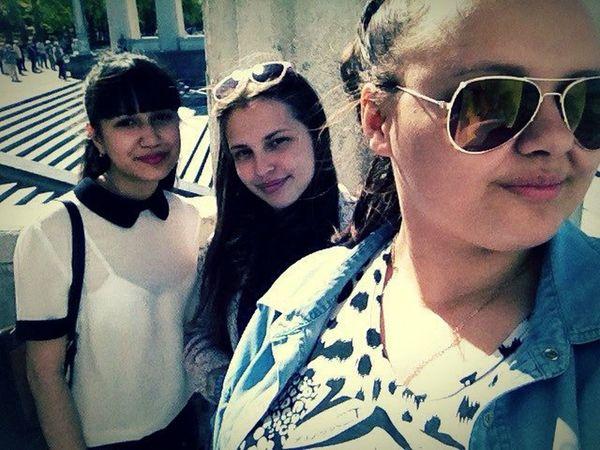 а_мы_гуляем Мои кисы Walking Around The City  My Girls ✌ Love ♥ Volga River