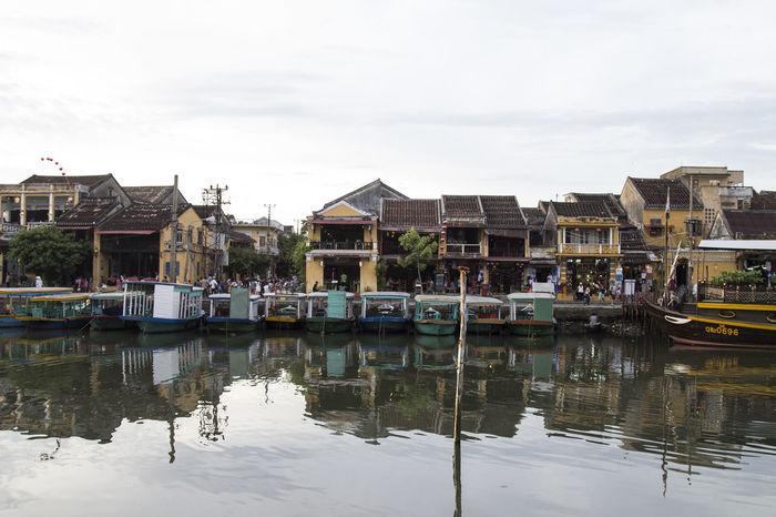 Boat City Day Fish Fisherman Hoi An Outdoors River Riverside Sky Street Street Photography Streetphotography Vietnam Vietnamese