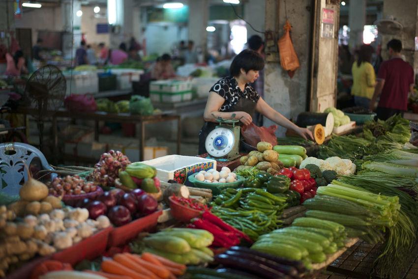 Market Asian Culture Leica M-P China Trip Danshui Town Walking Around