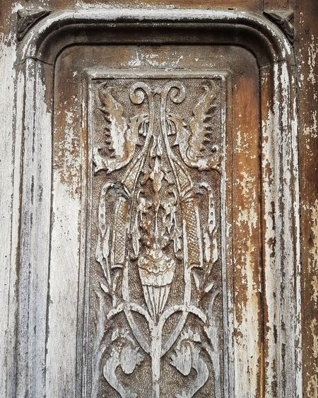 Door No People Bedonia Full Frame Backgrounds History Close-up Bas Relief